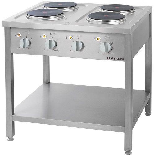 Kuchnia Elektryczna 4-Płytowa 10,4 kW 400 V
