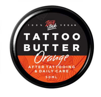 Masło Krem do Tatuażu Loveink Orange Pomarańcza 50ml