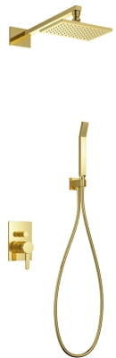 OMNIRES system podtynkowy kompletny Darling złoto SYSDA18GL