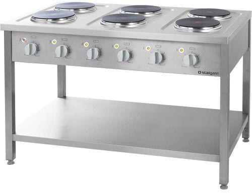 Kuchnia Elektryczna 6-Płytowa 15,6 kW 400 V