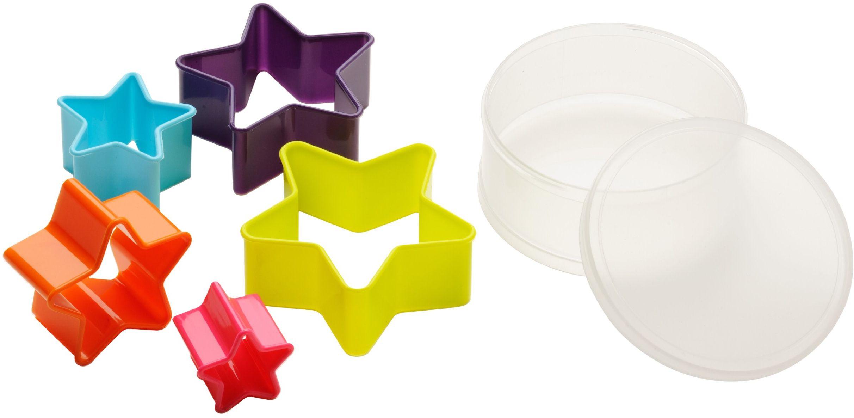 Premier Housewares foremki w kształcie gwiazdy - wielokolorowe, zestaw 5 szt.