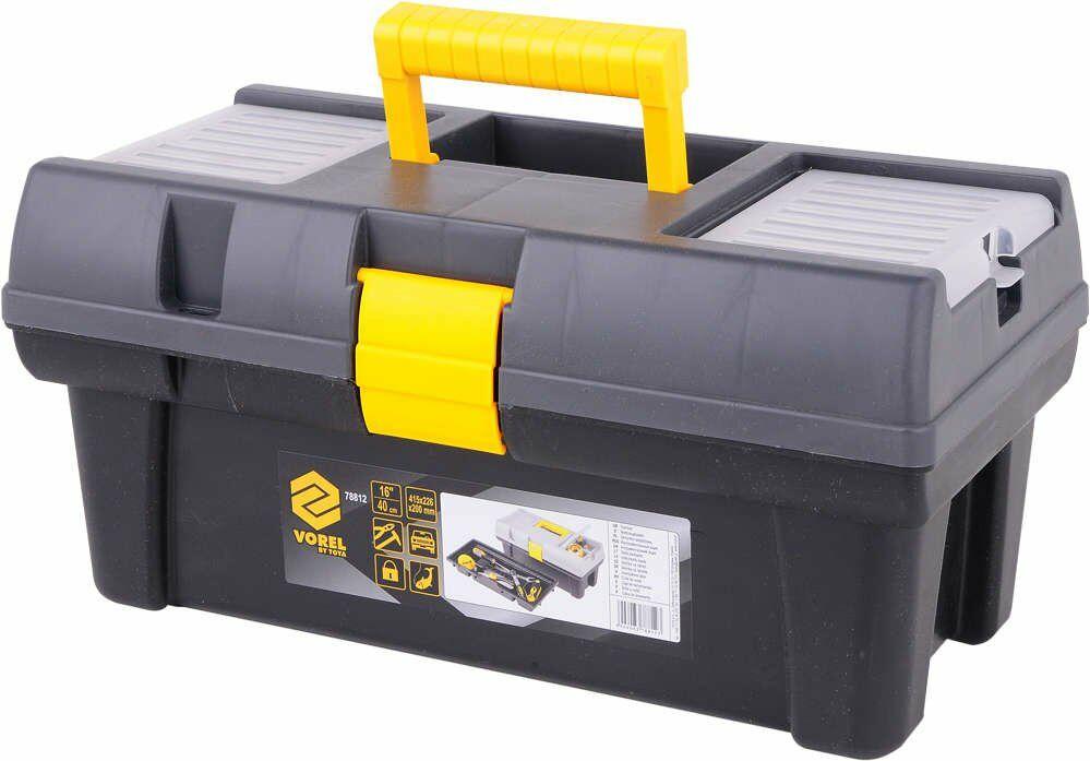 Skrzynka narzędziowa plastikowa pr-16'' Vorel 78812 - ZYSKAJ RABAT 30 ZŁ
