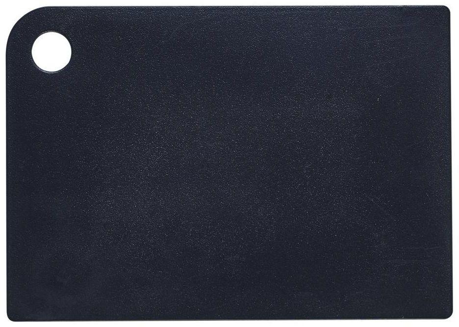 Deska do krojenia mała czarna Plast Team