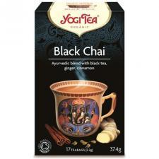 Herbata czarna BLACK CHAI z imbirem i cynamonem BIO (17 x 2,2 g) Yogi Tea