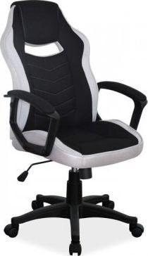 Fotel obrotowy gamingowy CAMARO CZARNY/SZARY