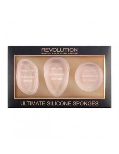 Makeup Revolution Ultimate Silicone Sponge Set gąbki do makijażu
