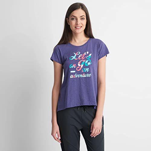 ELBRUS EMAS WO''S T-shirt, Navy Blue, XS