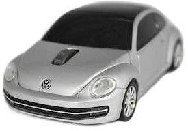 Volkswagen the Beetle - srebrny - Mysz bezprzewodowa samochód Landmice