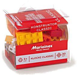 Klocki classic 30 elementów, Marioinex 903056