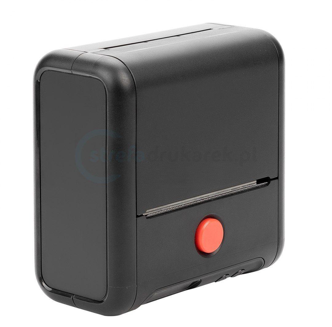 Drukarka etykiet BeMark PL M200 Pocket Labeler 203 DPI szer. do 75 mm + etykiety 40mmx30mm - obsługa Bluetooth