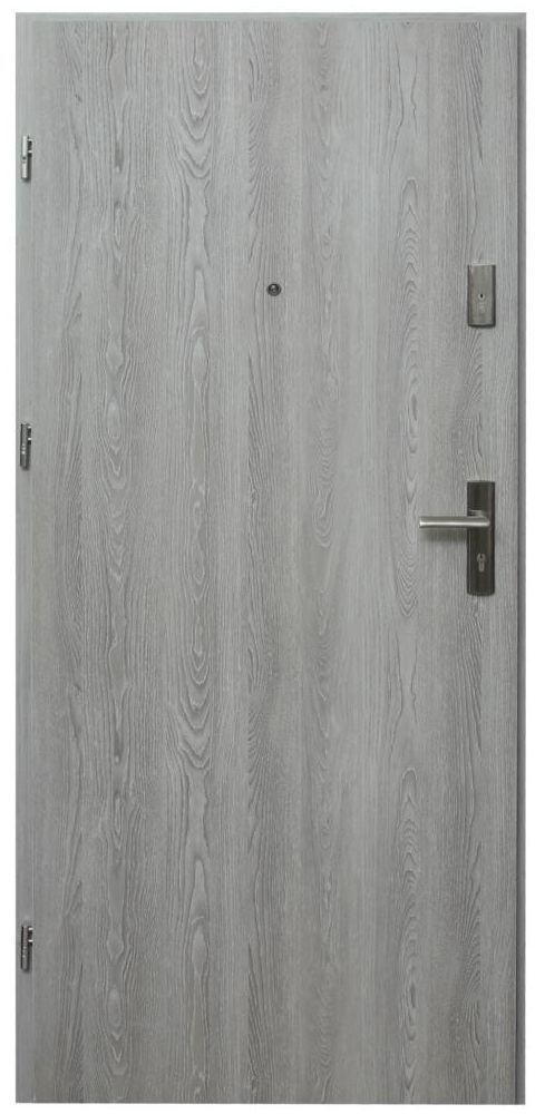 Drzwi wejściowe HEKTOR 32 Dąb nordycki 80 Lewe DOMIDOR