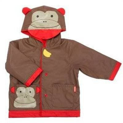 Skip hop płaszcz przeciwdeszczowy zoo - małpa (l) 5-6 lat
