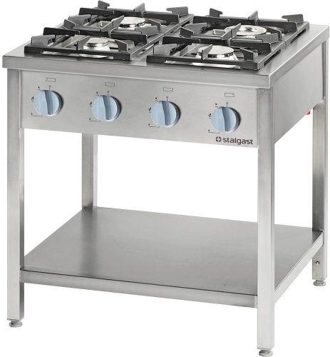 Kuchnia Gazowa 4-Palnikowa 22,5 kW G20 Wolnostojąca