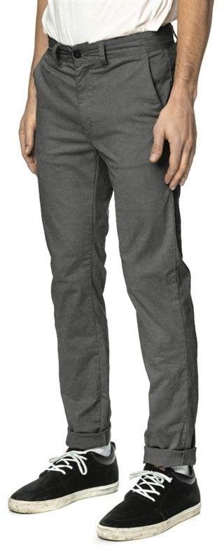 spodnie GLOBE - Goodstock Chino Grey (GRY)