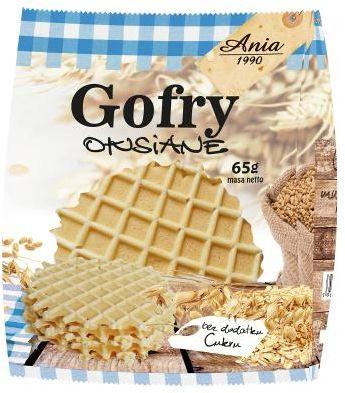 Gofry owsiane bez cukru 65 g ANIA