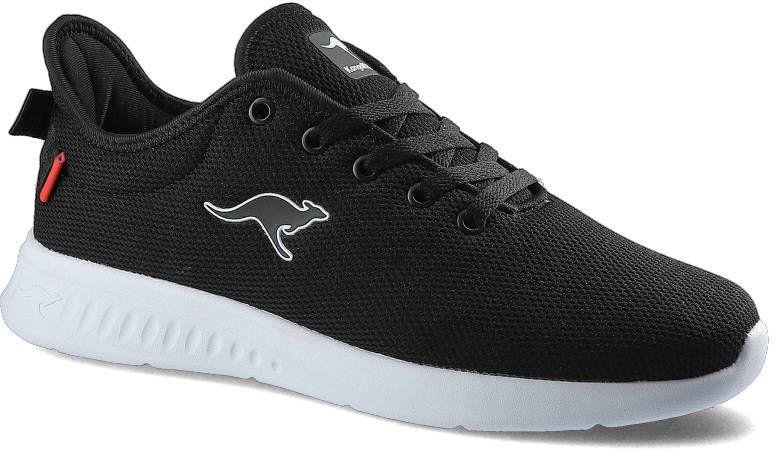 Sneakersy KANGAROSS 79129 000 5065 Kl-A Clip Jet Black/Fiery Red