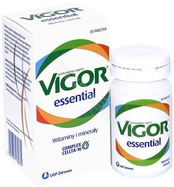 Vigor Essential witaminy i minerały, 30 tabletek