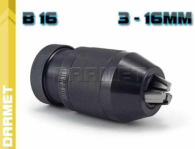Uchwyt wiertarski samozaciskowy: 3 - 16MM - B16, (J0116-P)