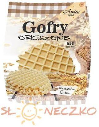 Gofry orkiszowe bez cukru 65 g Ania