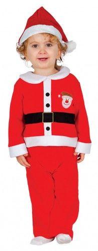 Kostium dla chłopca Mały Mikołaj