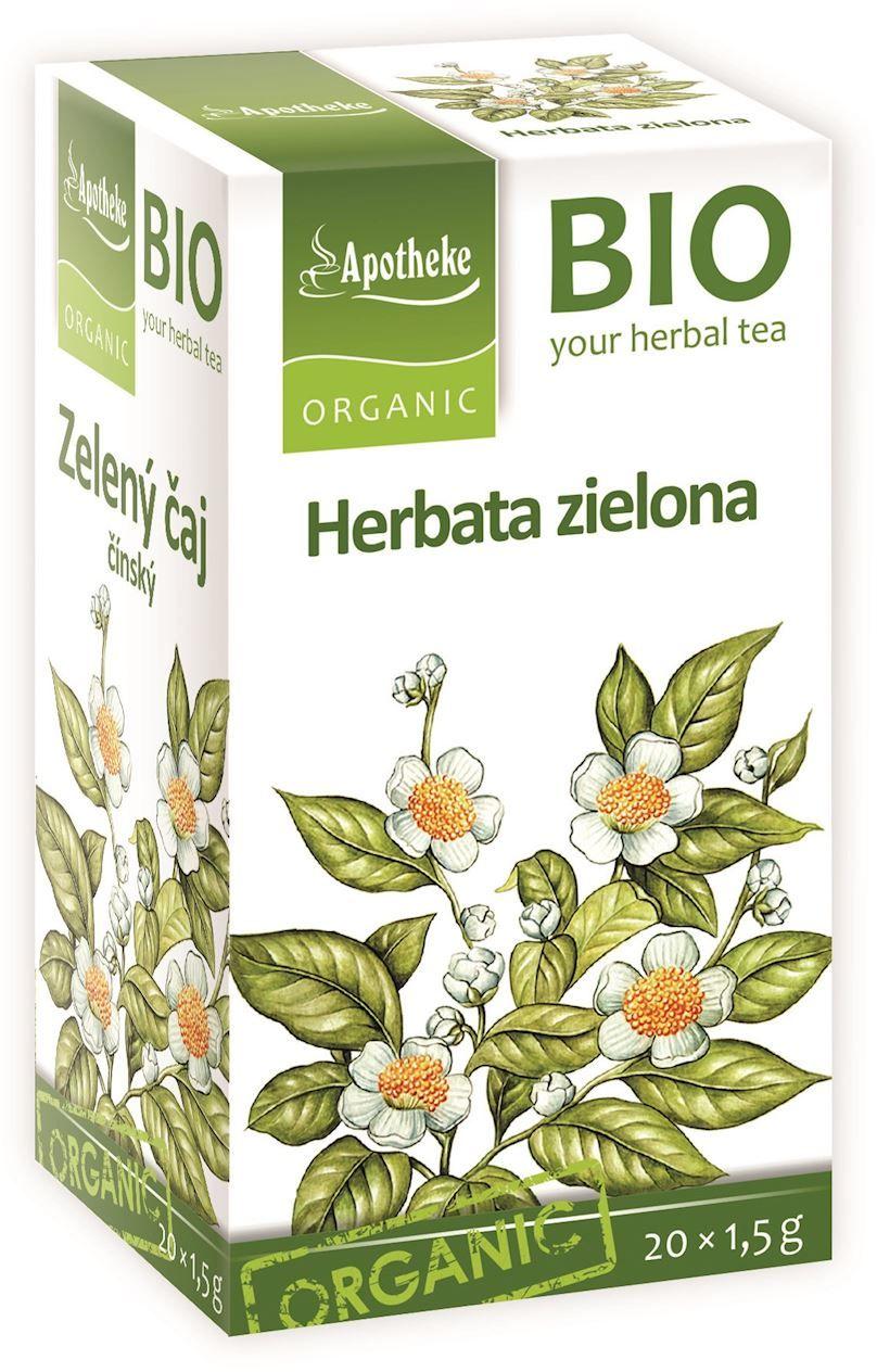 Herbata zielona chińska ekspresowa bio 20 x 1,5 g - apotheke