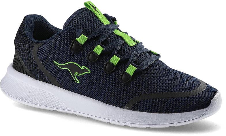 Sneakersy KANGAROSS 18318 000 4054 Kf Lock Dk Navy/Lime
