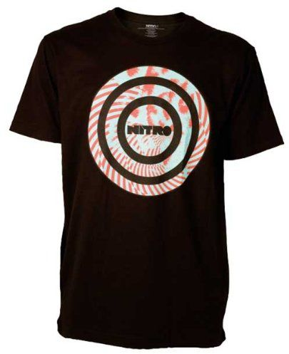 Nitro snowboardowa męska koszulka Manipulation S/S, czarna, S
