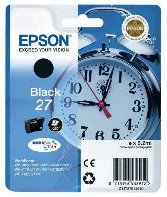 Wkład atramentowy EPSON 27 Czarny