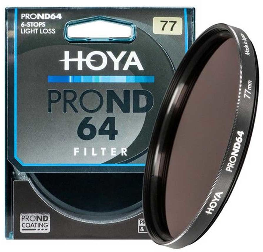 Filtr szary Hoya PRO ND64 52mm