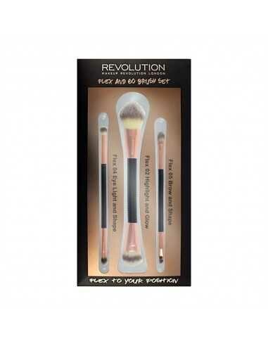 Makeup Revolution Flex & Go Brush Set zestaw pędzli