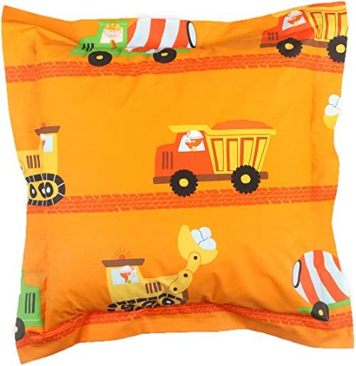 rioma Caterpillar poduszki, z policotton 50x50x4 cm pomarańczowa