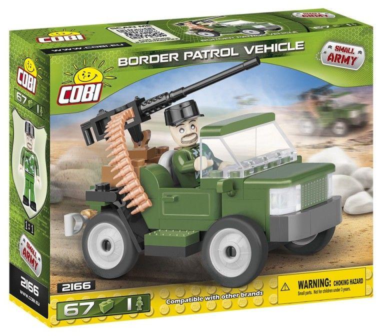 Klocki Mała Armia Pojazd patrolowy Straży Granicznej