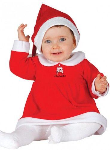 Kostium dla dziewczynki Mała Pani Mikołajowa