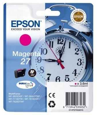 Wkład atramentowy EPSON 27 Magenta