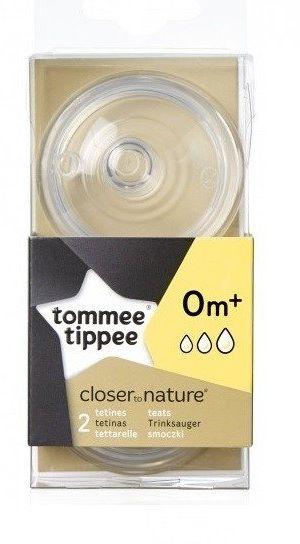 Smoczek Tommee Tippee 0m+ wieloprzepływowy
