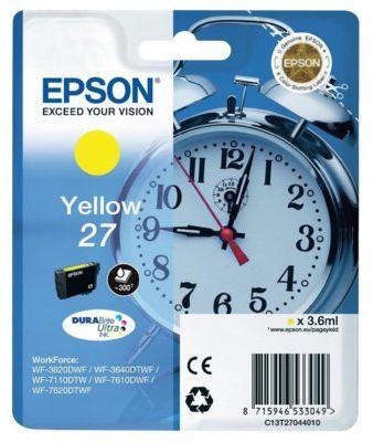Wkład atramentowy EPSON 27 Żółty
