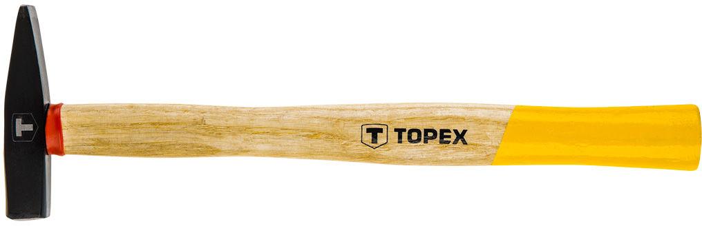 Młotek ślusarski 100 g, trzonek drewniany
