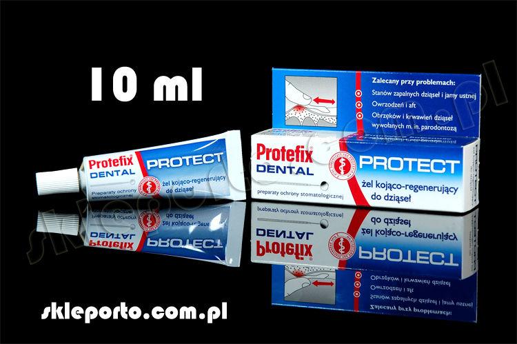Protefix Protect żel kojąco-regenerujący 10 ml - stany zapalne, owrzodzenia, afty