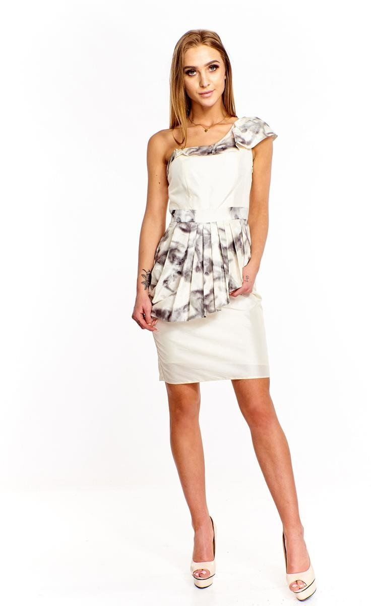 Sukienka FSU217 EKRI