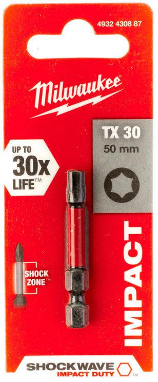 MILWAUKEE Bit TORX T30 50mm 4932430887