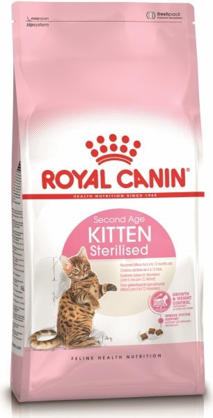 Royal Canin Kitten Sterilised Second Age 2kg
