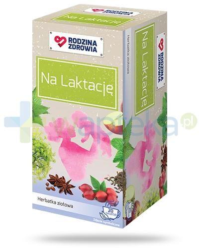Rodzina Zdrowia Na Laktację herbatka ziołowa 20 saszetek