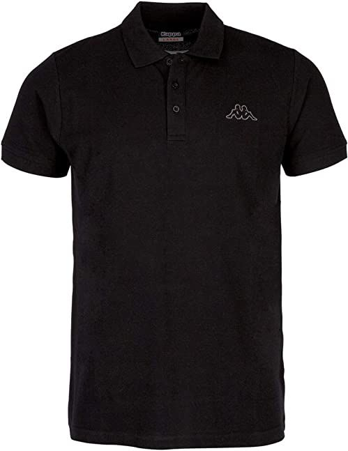 Kappa Peleot koszulka polo, męska, koszulka polo, czarna, M
