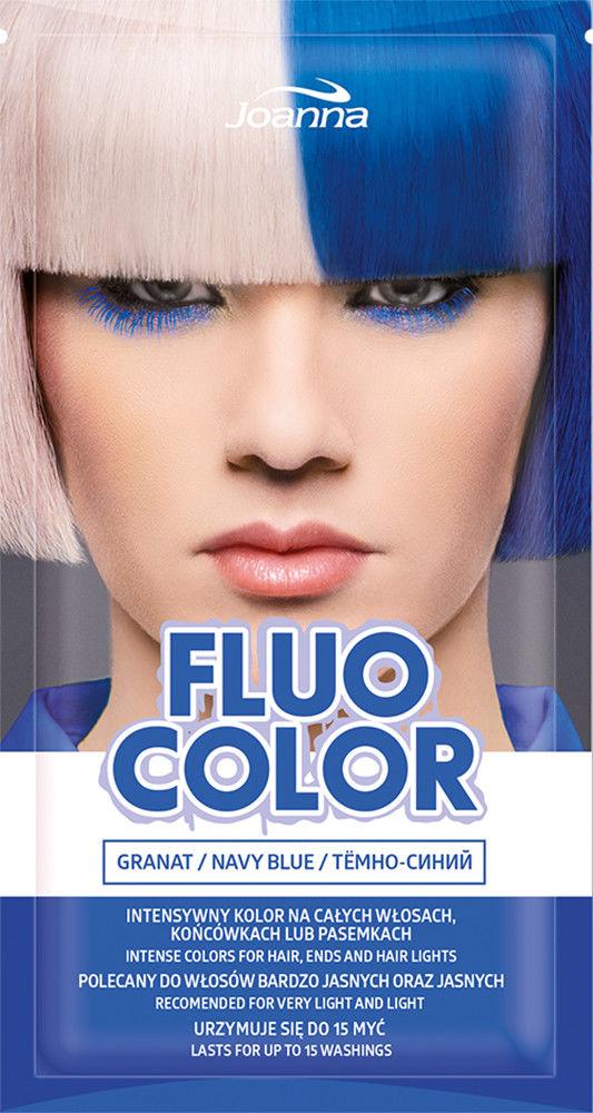 Joanna Fluo Color Szampon koloryzujący do włosów Granat 35g