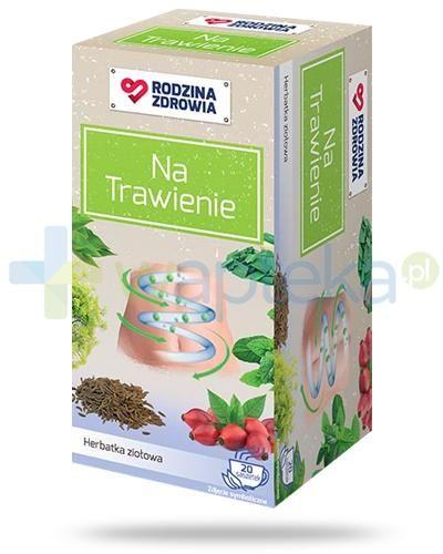 Rodzina Zdrowia Na Trawienie herbatka ziołowa 20 saszetek