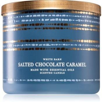 Bath & Body Works Salted Chocolate Caramel świeczka zapachowa 411 g