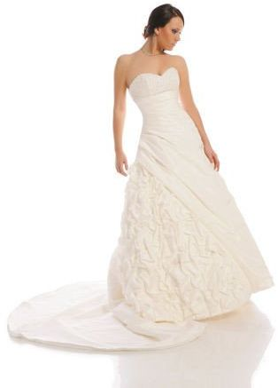 FSS524 Suknie Ślubne Suknia BIAŁY