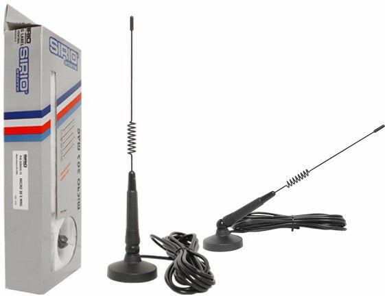 SIRIO MICRO-30S Antena CB 31cm WYSYŁKA UBEZPIECZONA OD 10,50 PLN