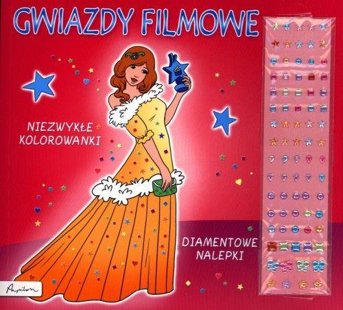 Gwiazdy filmowe Niezwykłe kolorowanki