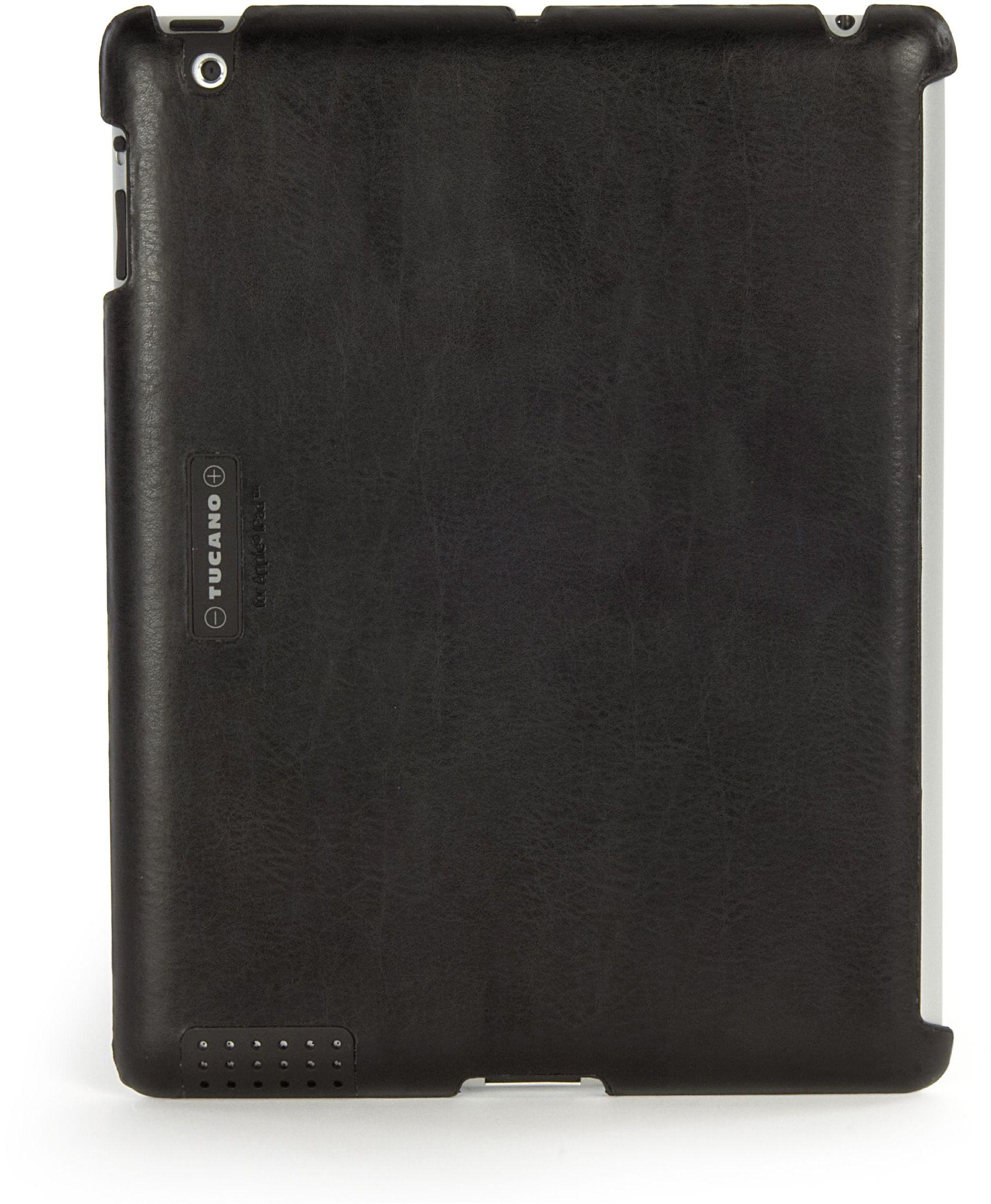 Tucano IPDMA czarne etui ochronne na tablet  etui ochronne na tablet (czarny, skóra, 185 mm, 241 mm, 150 g, 185 x 8,8 x 241 mm)